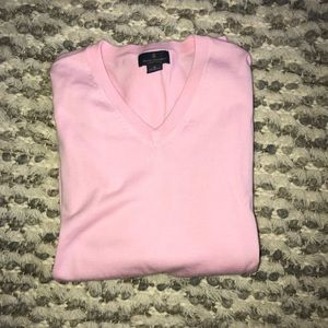 Brooks Brother pink v-neck